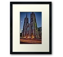 Mass Framed Print