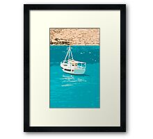 Greece Framed Print