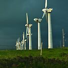 Broken Wind Farm by WireKat