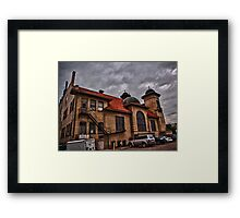 The Back of Pathways Framed Print