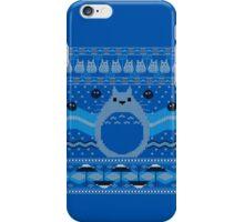 Totoro Knitted Neighbor iPhone Case/Skin