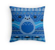 Totoro Knitted Neighbor Throw Pillow