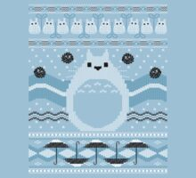 Totoro Knitted Neighbor Kids Clothes