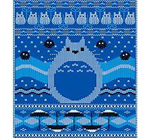 Totoro Knitted Neighbor Photographic Print