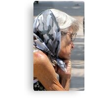 Down And Out Metal Print
