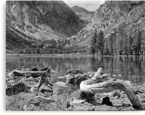 Parker Lake, Ansel Adams Wilderness Area, California by Pete Paul