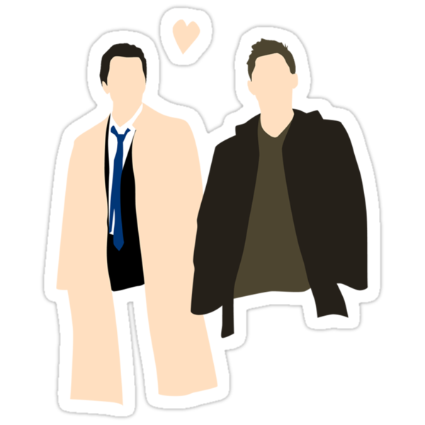 Destiel is real by screenlocked .