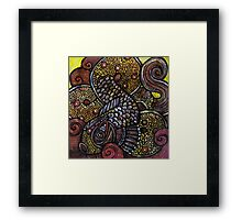 Fish Knot II Framed Print