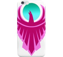 The New Day - Phoenix Logo (Pink and Teal) iPhone Case/Skin