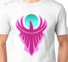 The New Day - Phoenix Logo (Pink and Teal) Unisex T-Shirt