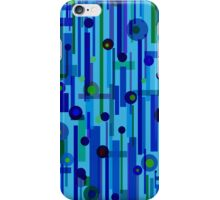 Plink Blue (other colors available) iPhone Case/Skin