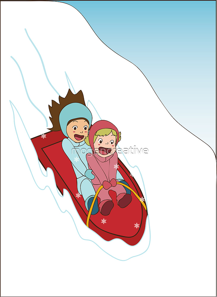 Sledding by mogencreative