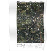 USGS Topo Map Washington State WA Winchester Peak 20110428 TM Poster