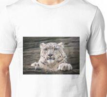Snow leopard (Panthera uncia) Unisex T-Shirt