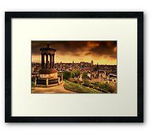Edinburgh (Please View Larger) Framed Print