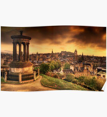 Edinburgh (Please View Larger) Poster