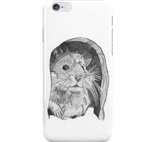 Hamster sketch iPhone Case/Skin