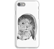 Hamster sketch iPhone Case/Skin