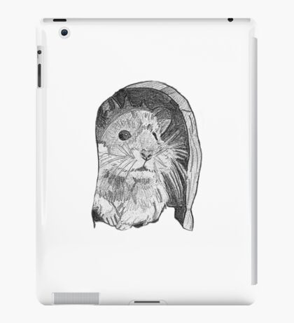 Hamster sketch iPad Case/Skin