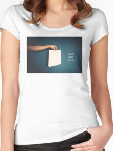 Ayer casi folio Women's Fitted Scoop T-Shirt