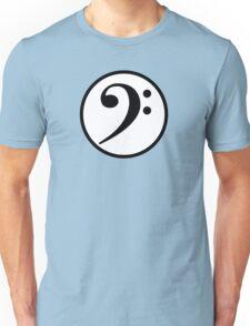 Bass Clef Unisex T-Shirt