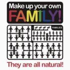 Make up your own family! by tudi