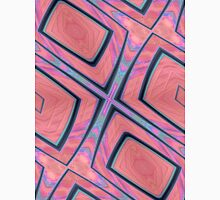 Pink and Blue Abstract Unisex T-Shirt