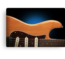 Fender Stratocaster Curves Canvas Print