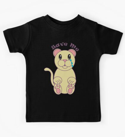 Save Me (Florida Panther) Kids Tee