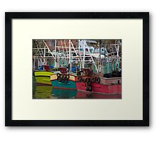 Fishing Fleet Framed Print