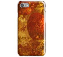 Apples & Autumn Leaves iPhone Case/Skin