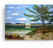 Caribbean Calm Canvas Print