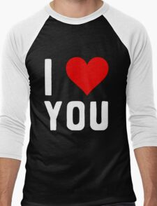 LOVE YOU Men's Baseball ¾ T-Shirt