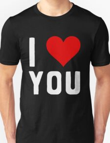 LOVE YOU Unisex T-Shirt