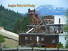 Sumpter Valley Gold Dredge  by Betty  Town Duncan