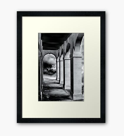 Stone Arches Framed Print