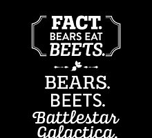 The Office - Bears. Beets. Battlestar Galactica. by noondaydesign