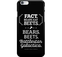 The Office - Bears. Beets. Battlestar Galactica. iPhone Case/Skin