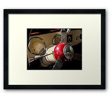 Taking a Look - Inside  ^ Framed Print