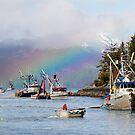 Opening Day-Sitka Sac Roe Herring Fishery by Gina Ruttle  (Whalegeek)