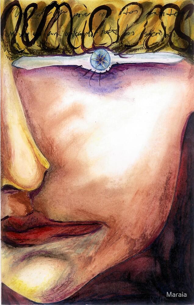 One eyed portrait by Maraia