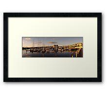 Seaport Harbour - Launceston, Tasmania Framed Print