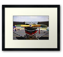 Vintage Nose Art WWII Airplane (L5 SENTINEL) Framed Print