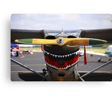 Vintage Nose Art WWII Airplane (L5 SENTINEL) Canvas Print