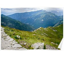 Tatry from the Kasprowy Wierch Poster