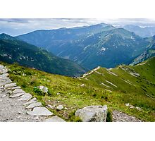 Tatry from the Kasprowy Wierch Photographic Print