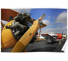 WWII Airplane - PT-17 STEARMAN Poster