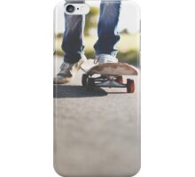 Skateboarder iPhone Case/Skin