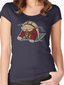 Counting D'Argo Women's Fitted Scoop T-Shirt
