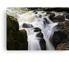 Silky Falls Canvas Print